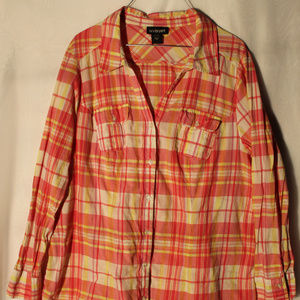 Lane Bryant 18/20 Blouse Perfect open with tank